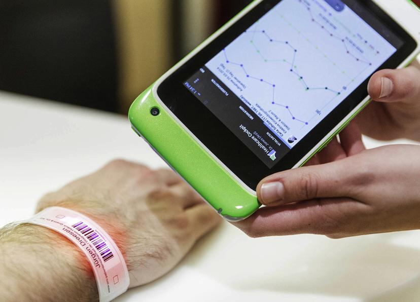 La tablette MioCARE présentée à MEDICA (Article presse)