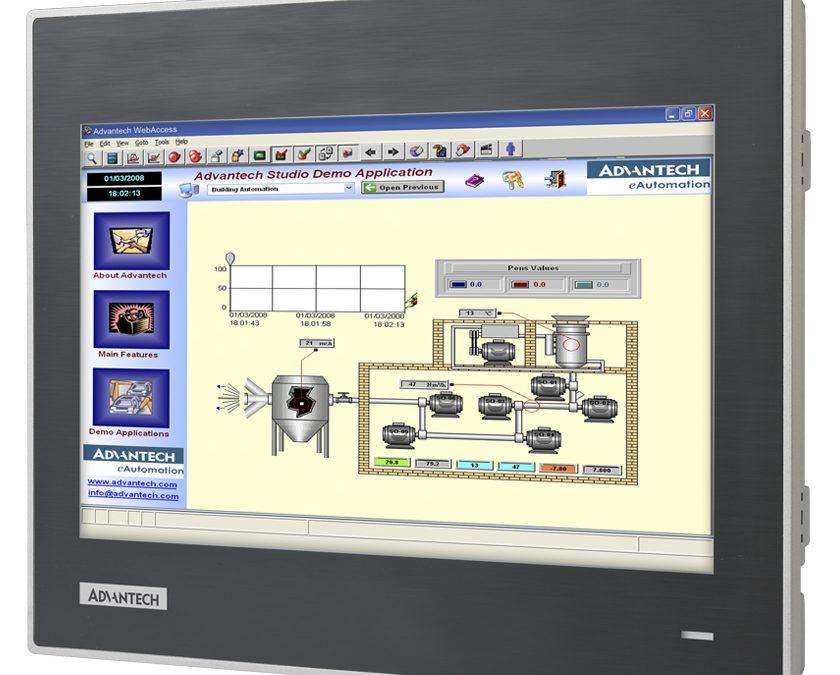 Operator Panel Advantech,  une nouvelle gamme WebOP