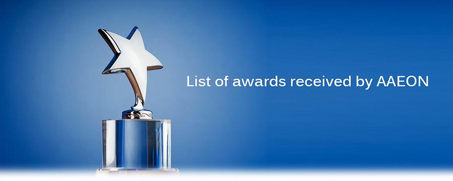 AAEON récompensé lors des Excellence Award 2014