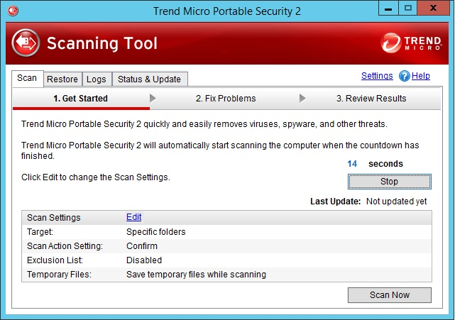 Cybersécurité Trend Micro Scanning-tool