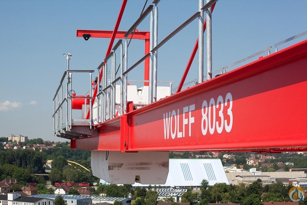Disponibilité et service à distance chez Wolffkran