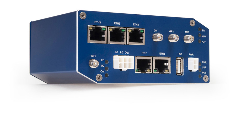 SmartFlex : La 1er Routeur 4G PoE