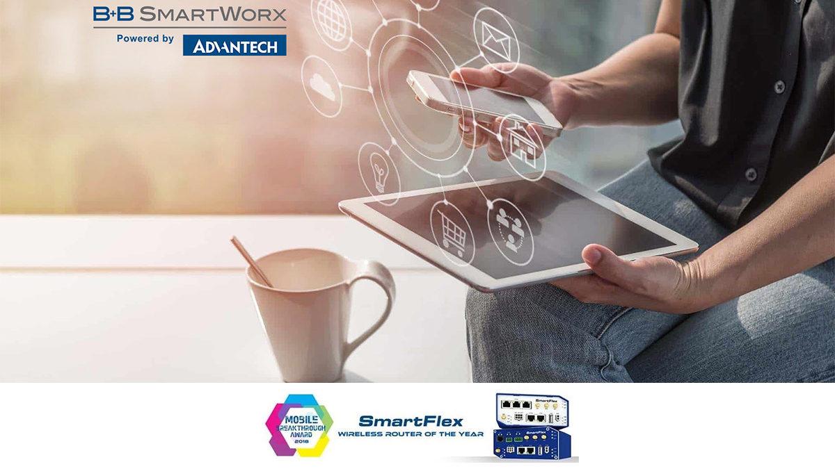 Advantech B&B SmartWorx remporte le prix du Routeur industriel sans fil de l'année !