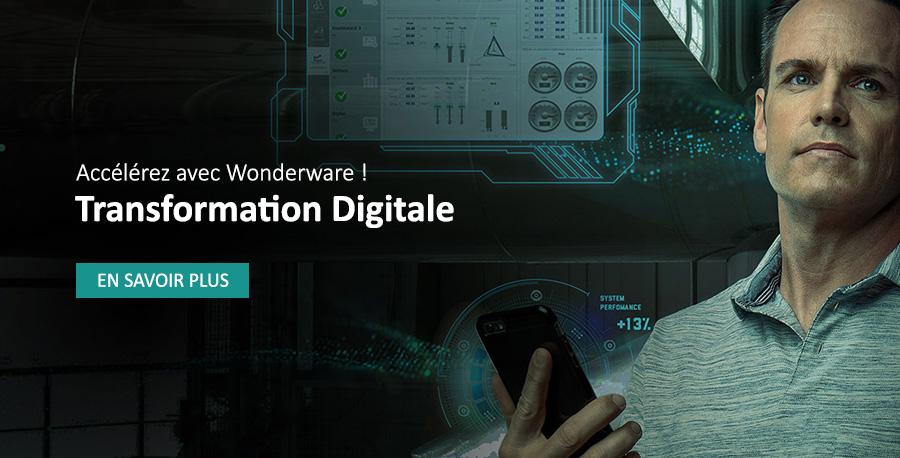 Transformation digitale : accélérez avec Wonderware