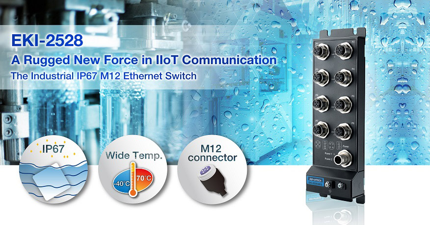EKI-2528-M12 Advantech