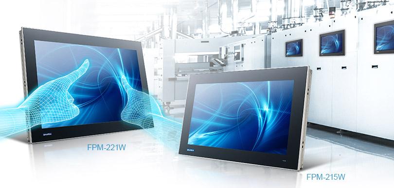 FPM-200 Advantech : Nouvelle génération de moniteurs industriels tactiles